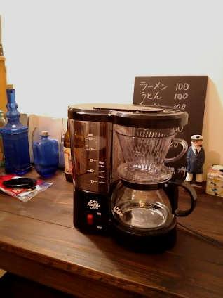 新しいコーヒーメーカー
